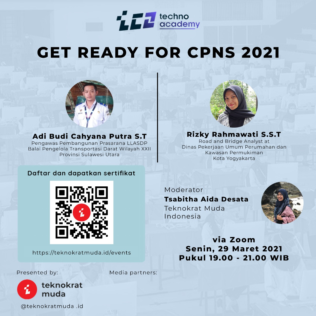 """Techno Academy #3 """" Get Ready for CPNS 2021"""""""